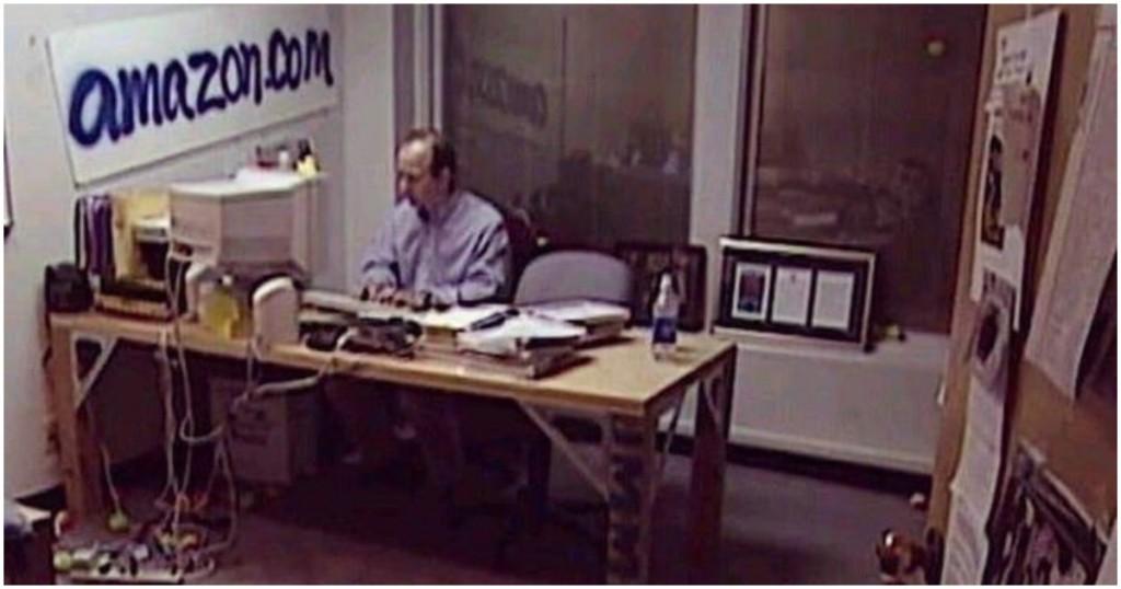 Il primo ufficio di Jeff Bezos